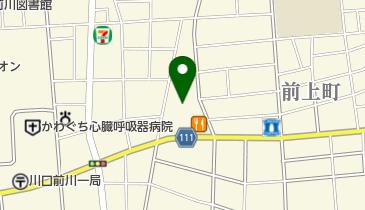 安全タクシーの地図画像