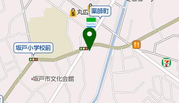 益子焼イシダの地図画像