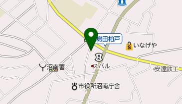 沼南タクシーの地図画像
