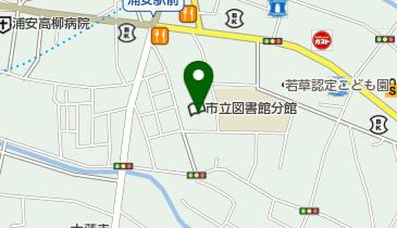 浦安市 中央公民館の地図画像