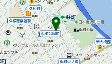 しまづる浜町薬局の地図画像