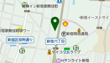純福音東京教会の地図画像