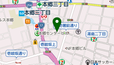 有限会社精確堂時計店の地図画像