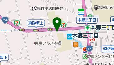 大晃堂時計店の地図画像