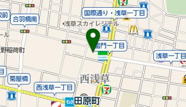 専勝寺の地図画像
