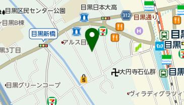 行人坂教会の地図画像