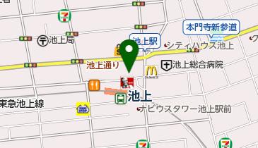 株式会社サンメリー池上店の地図画像