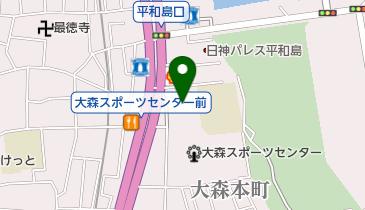 田中屋パン菓子店の地図画像