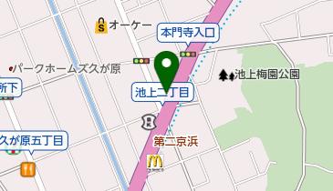 NISSHOレンタカー 池上営業所の地図画像