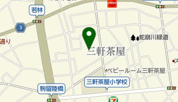カトリック東京大司教区 三軒茶屋教会の地図画像