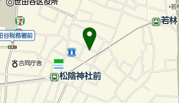 日本聖公会東京教区 東京聖十字教会の地図画像