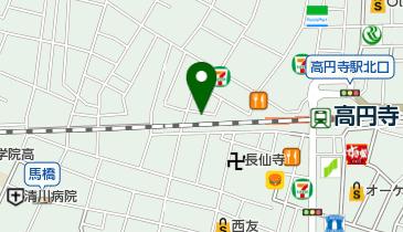 日本拳法空手道本部の地図画像