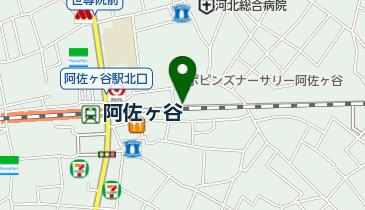 阿佐ヶ谷東自転車駐車場の地図画像