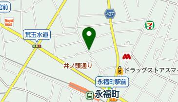 永福町北第1自転車駐車場の地図画像