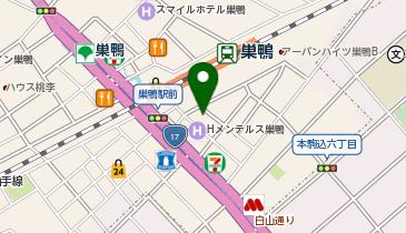 巣鴨駅南自転車駐車場の地図画像