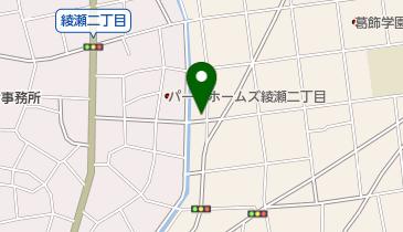 綾瀬キリスト教会の地図画像