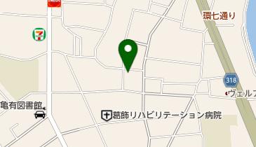 日本基督教団 亀有教会の地図画像