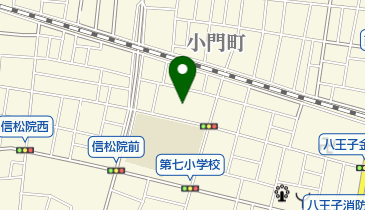 コバヤシ寝具店の地図画像