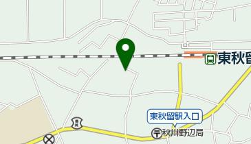 秋川キリスト集会の地図画像
