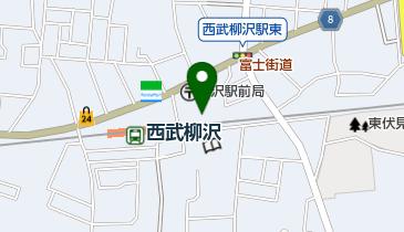 日本キリスト教団柳沢教会の地図画像