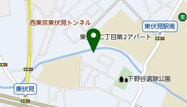 東伏見福音キリスト教会の地図画像
