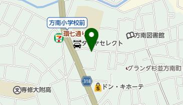 東京都個人タクシー協同組合杉並第二支部の地図画像