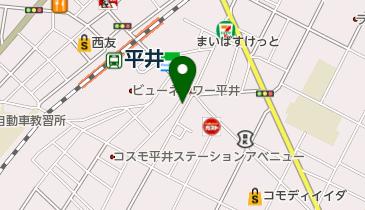 環境NPOエコメッセ元気力発電所平井店の地図画像