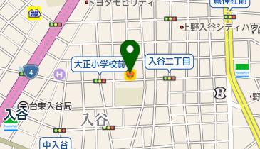 ラジャベッタ上野店の地図画像