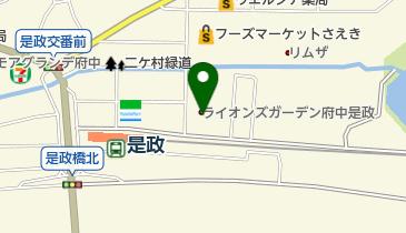 カギ屋さん24東京都府中市店の地図画像