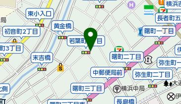 浜銀の地図画像