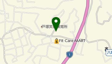 ピザーラ戸塚店の地図画像