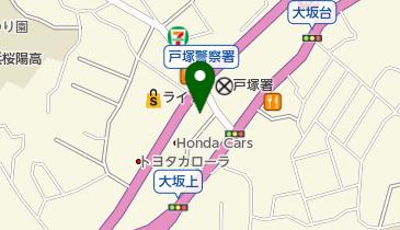 ピザハット 戸塚店の地図画像