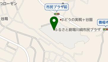 川崎市民プラザの地図画像