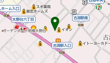 ジャスコスポーツクラブ相模原の地図画像