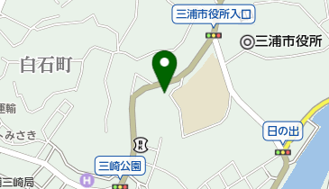 三崎港報社の地図画像