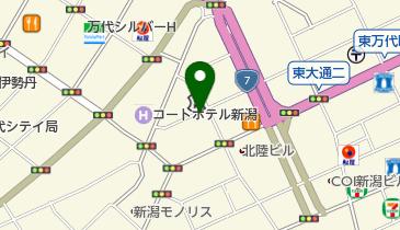 駅前なおしやの地図画像