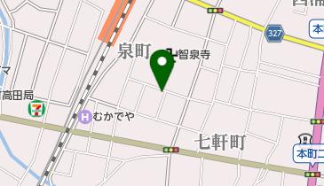 スナック遊の地図画像