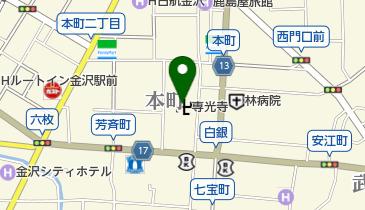 専光寺の地図画像