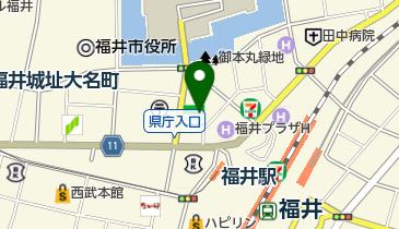 福井日産自動車株式会社レンタカー事業部の地図画像