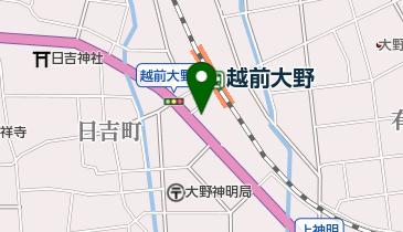 大野タクシーの地図画像