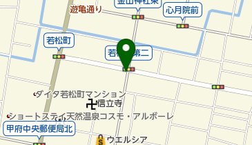 木口果実店の地図画像