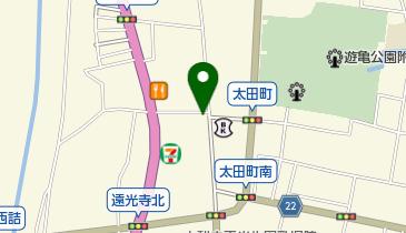 笹本果実本店の地図画像