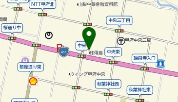 印傳博物館の地図画像