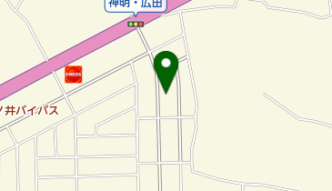 平和観光タクシーの地図画像
