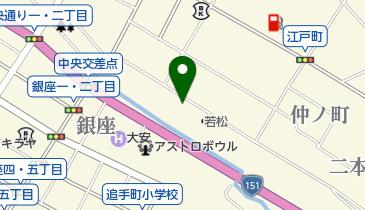 大阪屋商店の地図画像