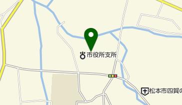 松本市 四賀公民館の地図画像