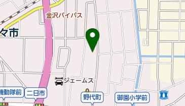 JMF石川車検センター野々市営業所の地図画像