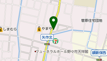 髪遊の地図画像