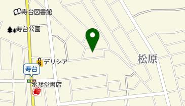 松本市 松原地区公民館・松原地区地域づくりセンターの地図画像