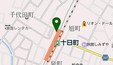 十日町市総合観光案内所の地図画像